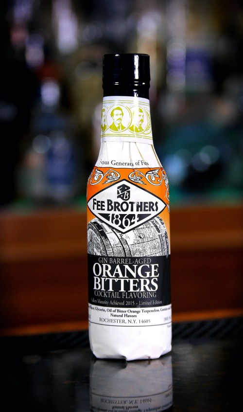 Fee Brothers Gin Barrel Aged Orange Bitters