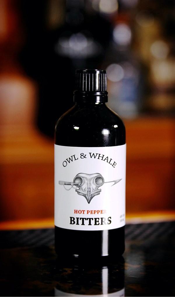 Owl & Whale Hot Pepper Bitters