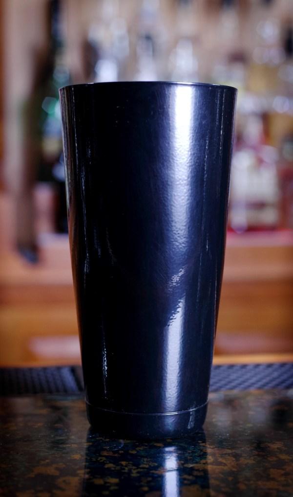 28 oz Black Powder Coated Cocktail Shaker