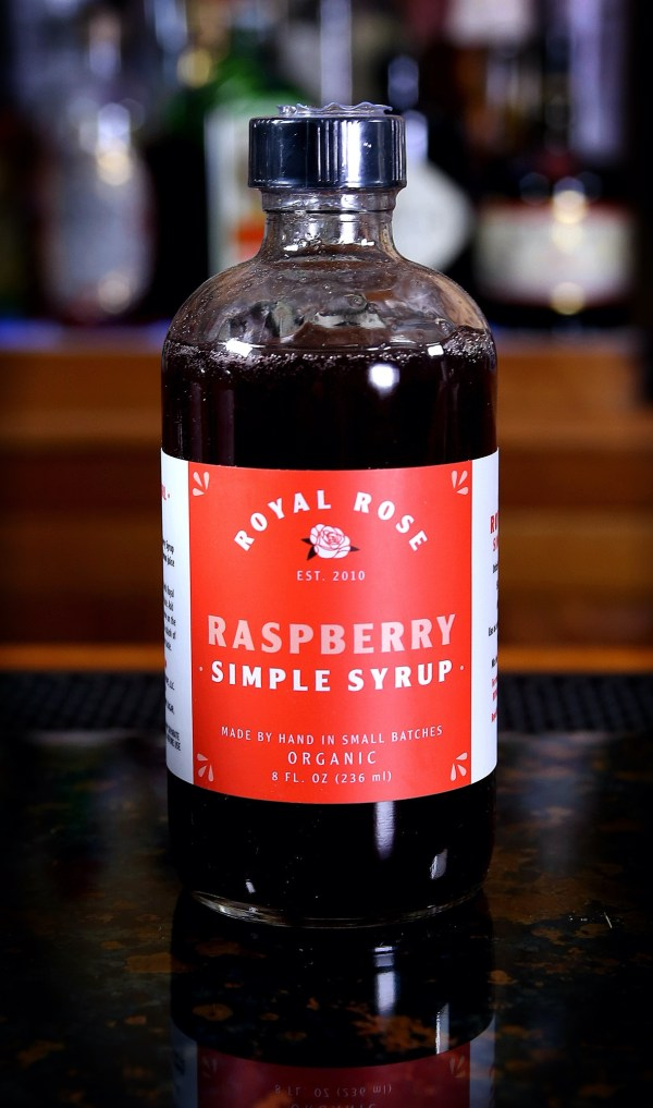 Royal Rose Raspberry Simple Syrup