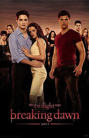 Twilight: Breaking Dawn Pt1 Poster
