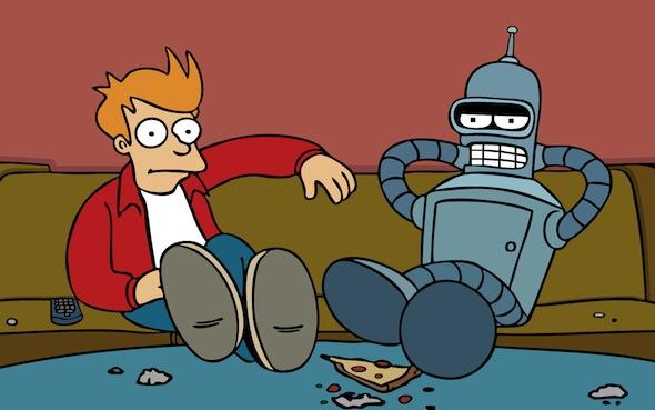 Fry + Bender
