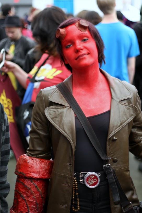 FanExpo Lady Hellboy