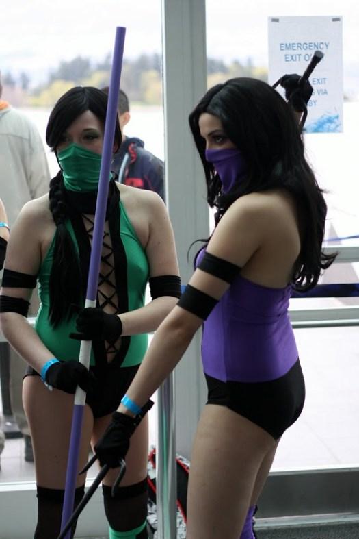 FanExpo Mortal Combat Babes 2