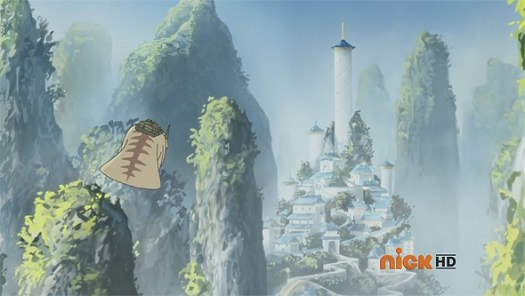 Tenzin and his family visit the Southern Air Temple.