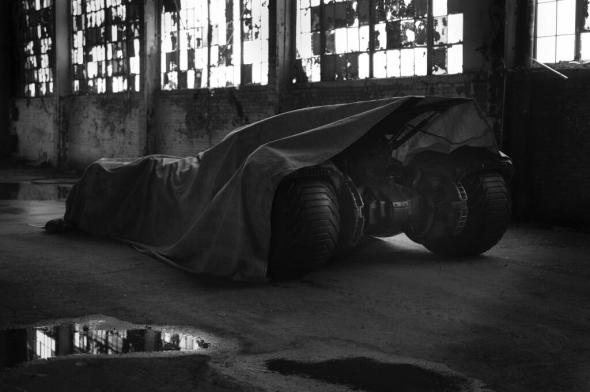 Man of Steel Batmobile