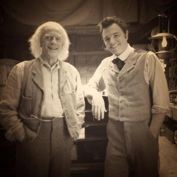 Christopher Lloyd + Seth McFarlane / A  Million Ways To Die In The West