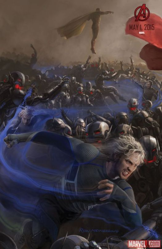 Avengers: Age of Ultron / Quicksilver + Vision