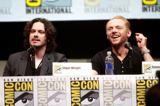 edgar Wright + Simon Pegg