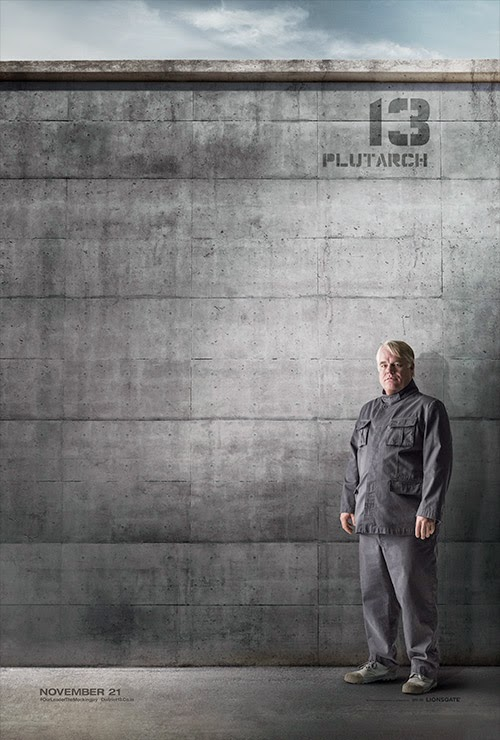The Hunger Games: Mockingjay Part 1 / Plutarch / Philip Seymour Hoffman