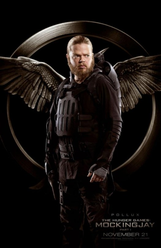 The Hunger Games Mockingjay Part 1 / Elden-Henson / Pollux