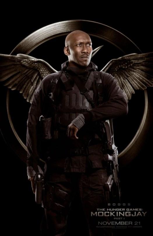The Hunger Games Mockingjay Part 1 / Maherhala Ali / Boggs