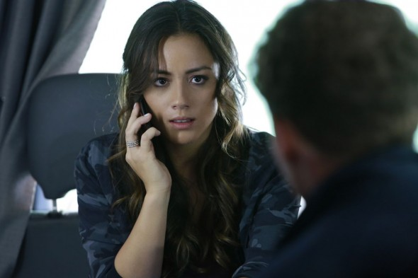 Chloe Bennet as Skye in Marvel's Agents of S.H.I.E.L.D.
