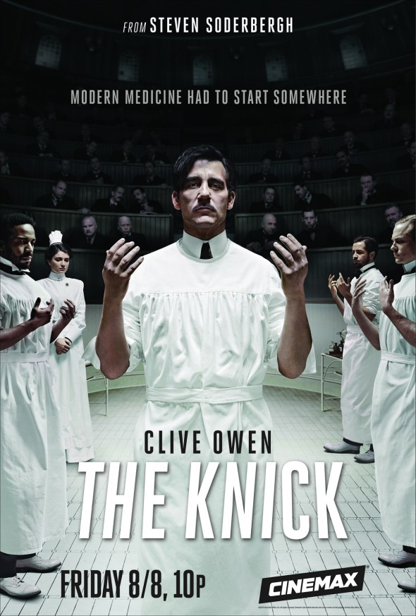 """Clive Own in Steven Soderbergh's """"The Knick"""" for Cinemax"""