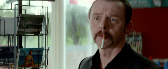 Simon Pegg / Kill Me Three Times