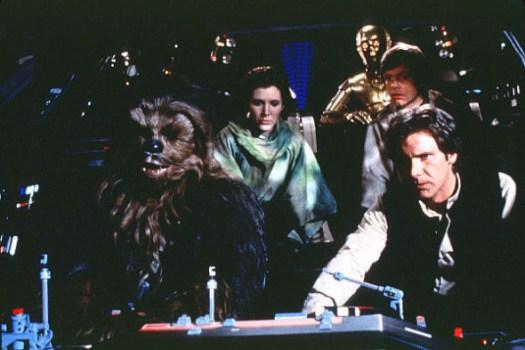 Star Wars Falcon Cockpit