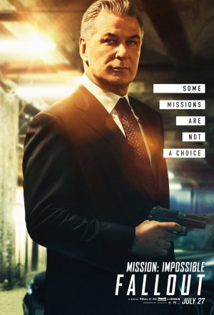 Mission: Impossible - Fallout; Alec Baldwin