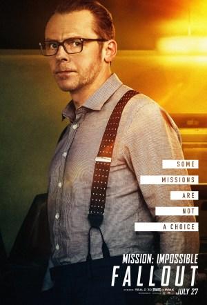 Mission: Impossible - Fallout; Simon Pegg