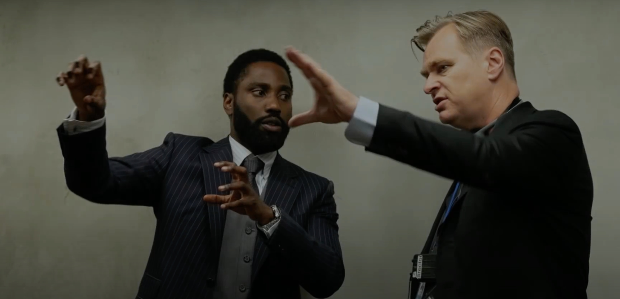 Christopher Nolan & John David Washington