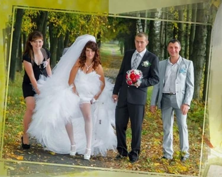 Funny Russian Wedding Photos You Won't Want To Recreate