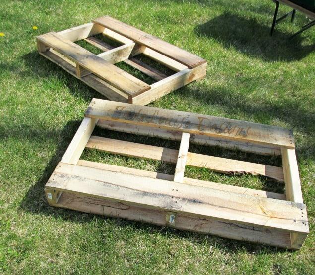 Raised Garden Beds Pallets