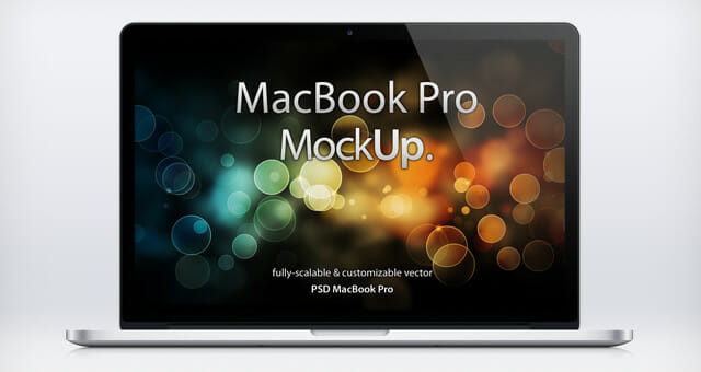 3 Realistic Macbook Pro Retina Psd Mockup Awesome Mockups