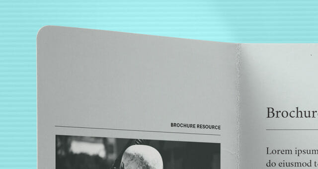 Realistic Double Gate Fold Brochure Mockup Awesome Mockups – Gate Fold Brochure Mockup