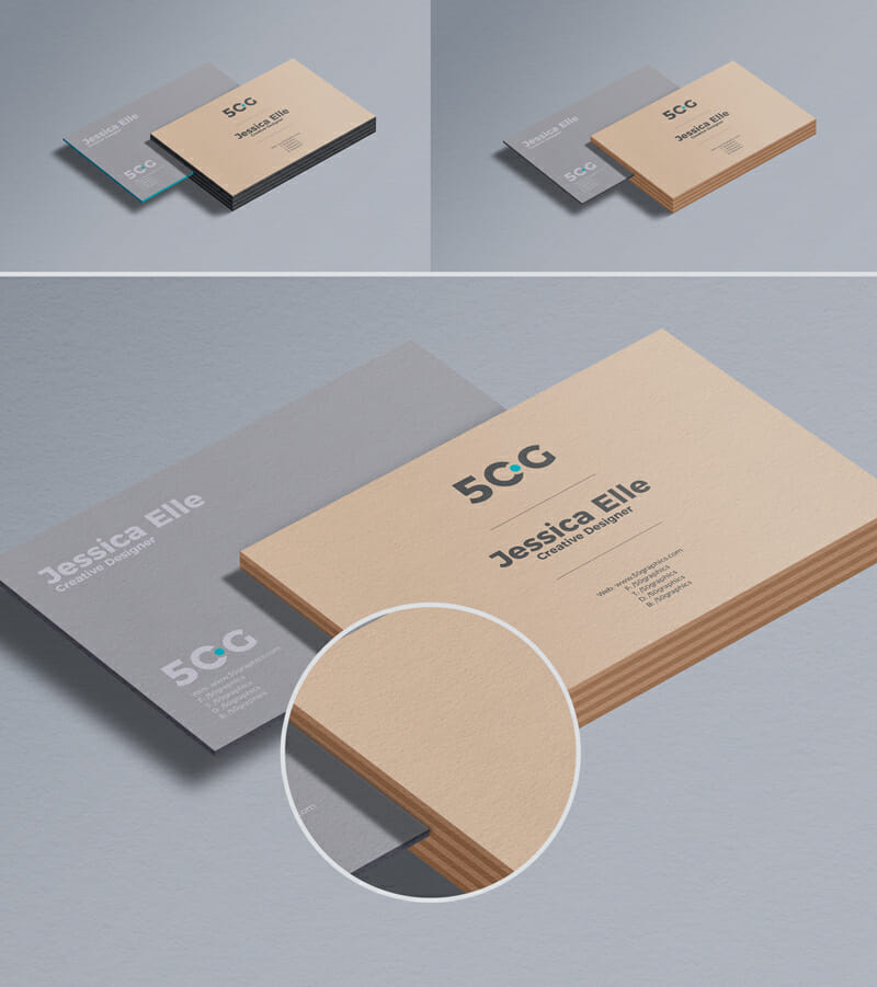Free Business Card Mockup For Branding - Awesome Mockups