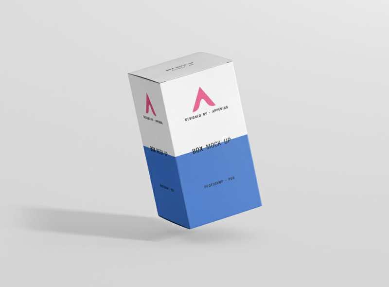 Download Rectangle Box Mockup Bundle - Awesome Mockups