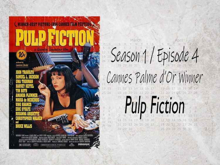 Pulp Fiction 1994 Cannes Palme D Or Winner Awesome Movie Year