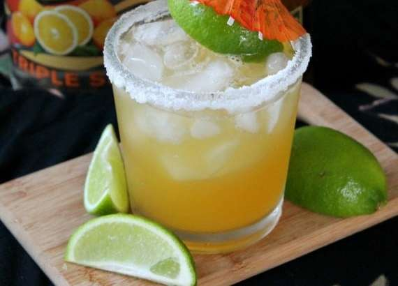 Passion Fruit Margarita from Awesome on 20