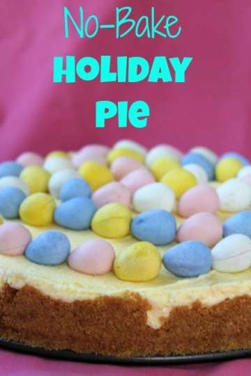 No-Bake Holiday Pie from Awesome on 20