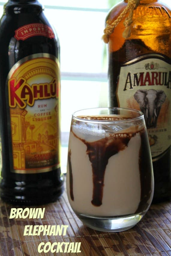 Brown Elephant Cocktail