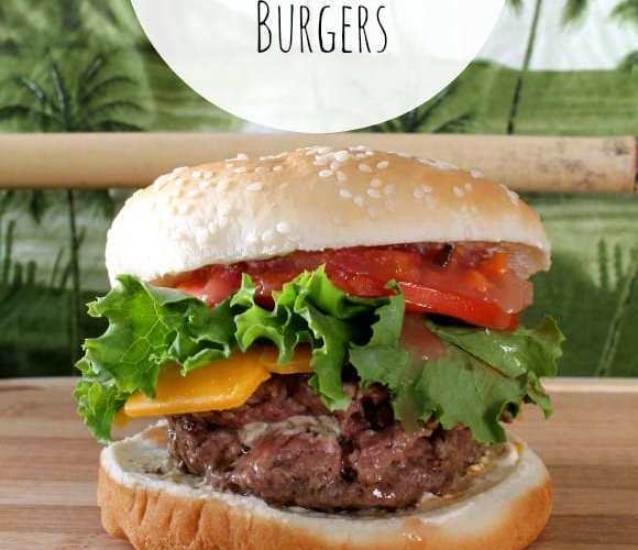 Jalapeno Cream Cheese Stuffed Burgers   How to be Awesome on $20 a Day