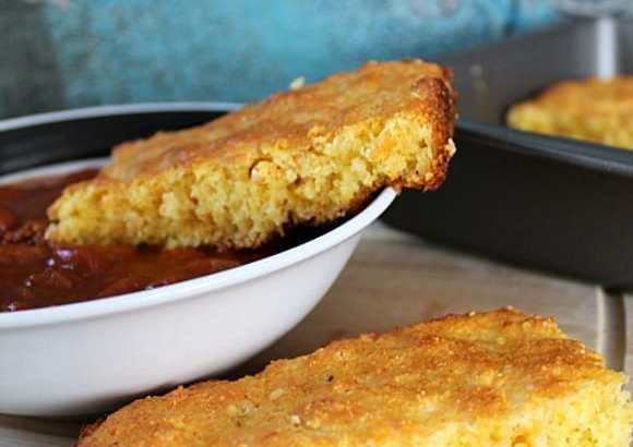 Cheddar Habenero Corn Bread | How to be Awesome on $20 a Day