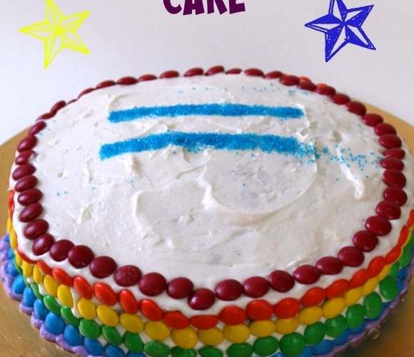 Gay Pride Cake | How to be Awesome on $20 a Day