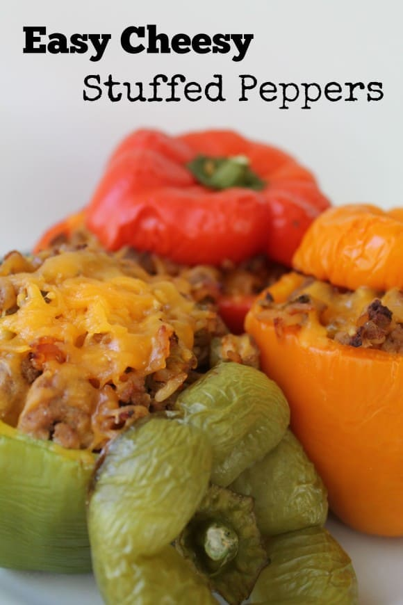 East Cheesy Stuffed Peppers