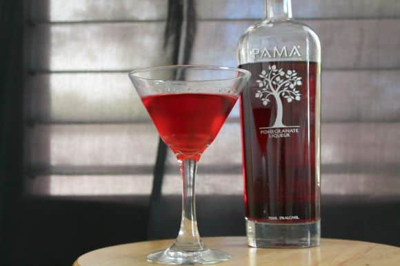 Pomegranate Martini   How to be Awesome on $20 a Day