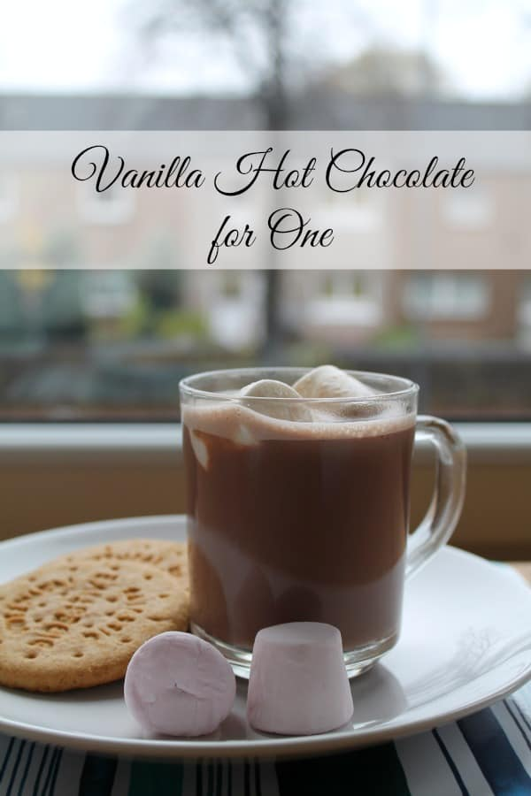 Vanilla Hot Chocolate for One | How to be Awesome on $20 a Day