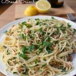 Spaghetti with Garlic Lemon Bread Crumbs | How to be Awesome on $20 a Day
