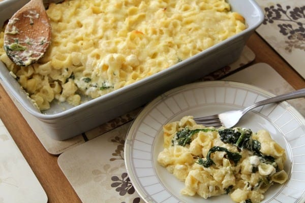 Spinach Alfredo Macaroni and Cheese | How to be Awesome on $20 a Day