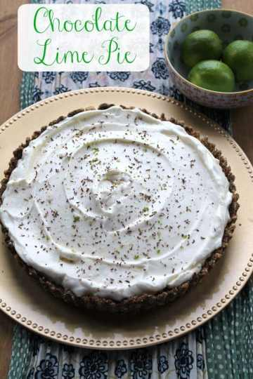 Chocolate Lime Pie | How to be Awesome on $20 a Day