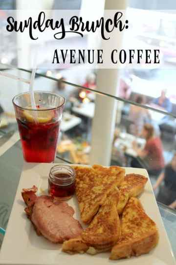 Sunday Brunch: Avenue Coffee