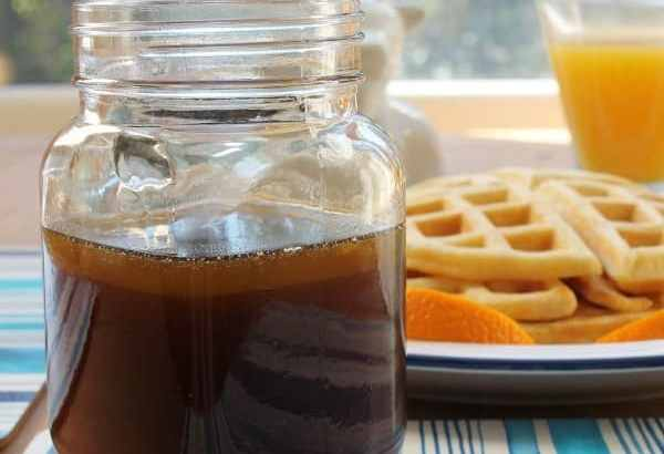 Brown Sugar Syrup   How to be Awesome on $20 a Day
