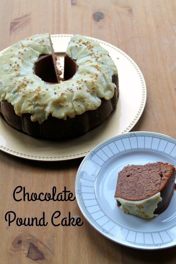 Chocolate Pound Cake | How to be Awesome on $20 a Day