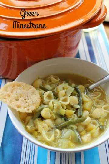 Green Minestrone   How to be Awesome on $20 a Day