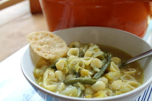 Green Minestrone | How to be Awesome on $20 a Day