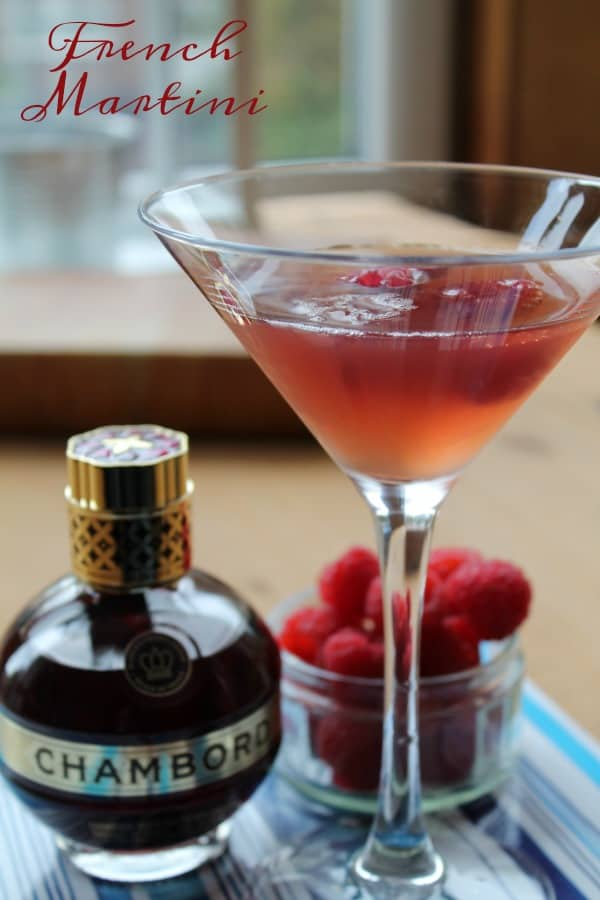 French Martini | How to be Awesome on $20 a Day