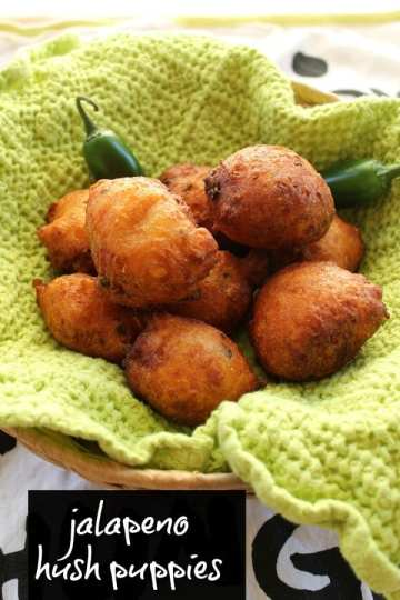 Jalapeno Hush Puppies | How to be Awesome on $20 a Day