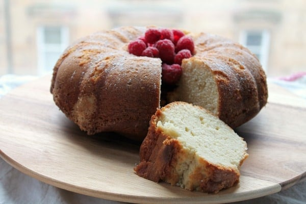 Buttermilk Pound Cake | How to be Awesome on $20 a Day